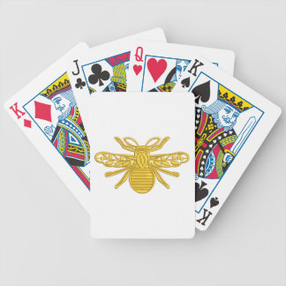 Cartas De Baralhos abelha real, imitação do bordado