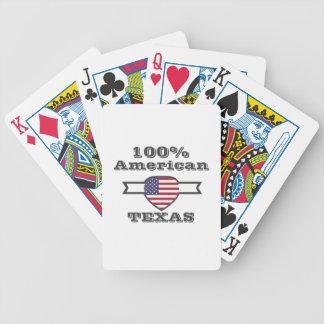 Cartas De Baralhos Americano de 100%, Texas