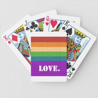 Cartas De Baralhos Amor de LGBT