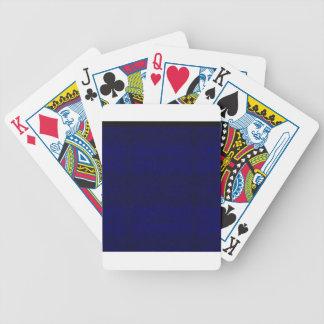 Cartas De Baralhos azul