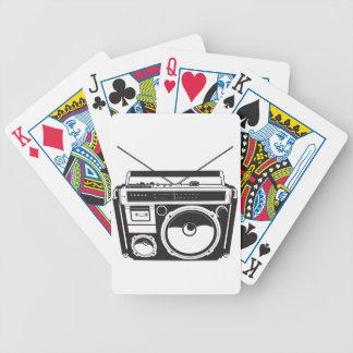 Cartas De Baralhos ☞ box de boom Oldschool, Cassette Player/