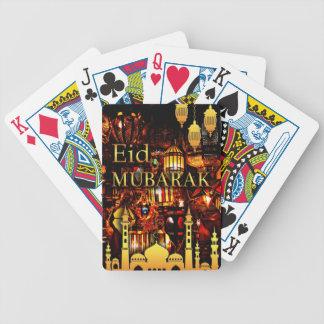 Cartas De Baralhos cartão 3 de ramadan
