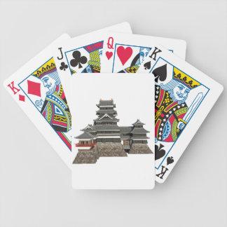 Cartas De Baralhos Castelo japonês clássico