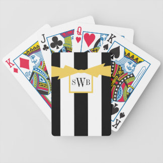 CARTAS DE BARALHOS CHIQUE QUE JOGA O ARCO DE CARDS_BLACK/WHITE