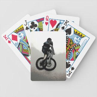 Cartas De Baralhos CICLISTA do motociclista MTB BMX da montanha