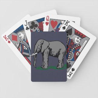 Cartas De Baralhos Elefante