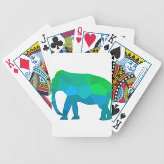 Cartas De Baralhos Elefante 1 do mosaico