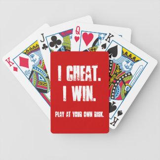 Cartas De Baralhos Engraçado todas as apostas estão fora do anfitrião