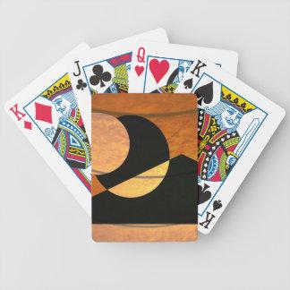 Cartas De Baralhos Fulgor dos planetas, preto e cobre, design gráfico