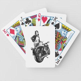 Cartas De Baralhos Motociclista