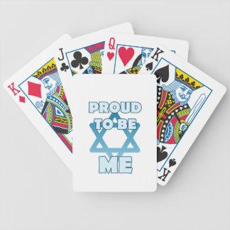 Cartas De Baralhos Orgulhoso ser judaico