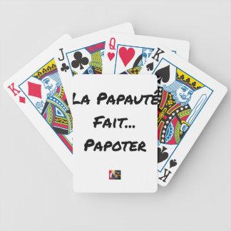 Cartas De Baralhos PAPAUTÉ FAZ TAGARELAR - Jogos de palavras