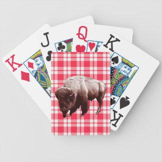 Cartas De Baralhos Partido do piquenique do búfalo