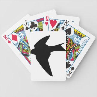 Cartas De Baralhos Pássaro de vôo