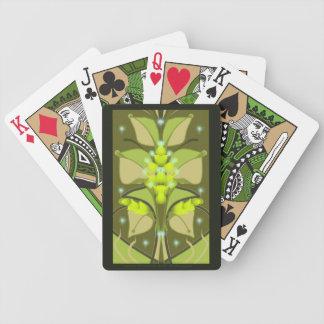 Cartas De Baralhos Plataforma de cartões do jogo da bicicleta do