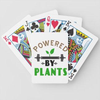 Cartas De Baralhos poder pelo design bonito das plantas
