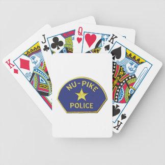 Cartas De Baralhos Polícia de NU-Pike