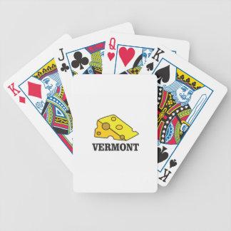 Cartas De Baralhos Queijo Cheddar de Vermont
