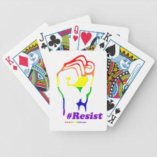 Cartas De Baralhos #Resist