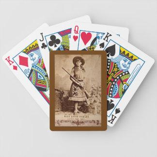 Cartas De Baralhos Sepia de Annie Oakley