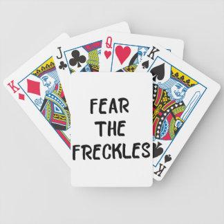 Cartas De Baralhos Tema os Freckles