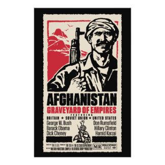 Cartaz cinematográfico pacífico de Afeganistão Flyer 13.97 X 21.59cm