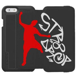Carteira da pilha da gota Str8 Capa Carteira Incipio Watson™ Para iPhone 6