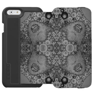 Carteira louca do abstrato iPhone6 Incipio