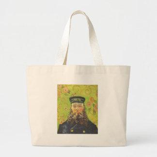 Carteiro Joseph Roulin - Vincent van Gogh do Bolsa Tote Grande