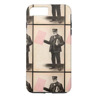 Carteiro romântico do vintage capa iPhone 7 plus