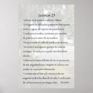 Cartel de Salmos 23 Posters