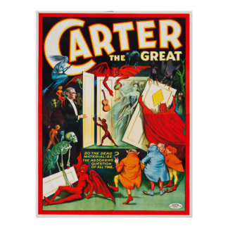 Carter o grande poster do armário do espírito