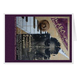Cartões: AAP 2013 I&C comemorativo Cartão De Nota