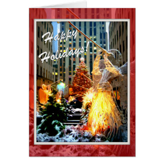 Cartões Center da árvore de Natal de Rockefeller