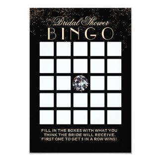 Cartões chiques do Bingo do chá de panela do Convite 8.89 X 12.7cm