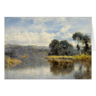 Cartões com Benjamin W Líder Pintura