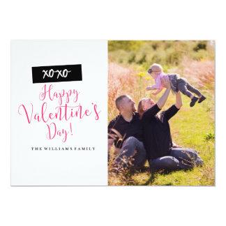 Cartões com fotos do dia dos namorados de XOXO