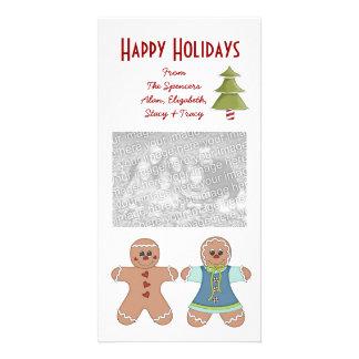 Cartões com fotos do feriado do casal do pão-de-es