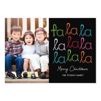 Cartões com fotos do feriado do La do La do Fa Convite 12.7 X 17.78cm