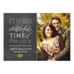 Cartões com fotos do feriado | o tempo o mais convites personalizado