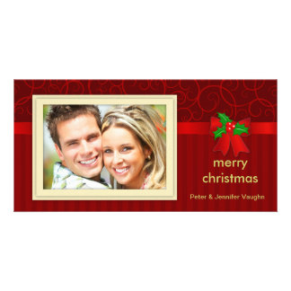 Cartões com fotos elegantes do feriado do natal vi