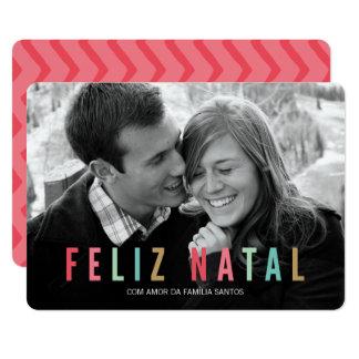 Cartões comemorativos | feliz natal convite 12.7 x 17.78cm