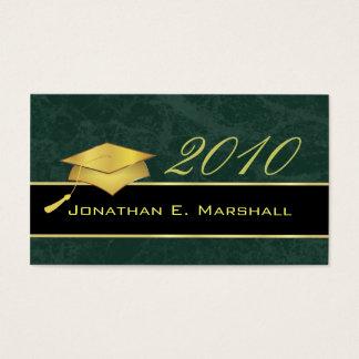 Cartões conhecidos da conclusão do ensino