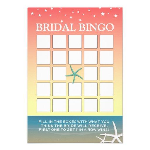 Cartões cor-de-rosa do Bingo do chá de panela da p Convite