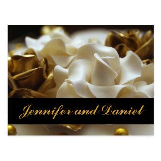 Cartões cor-de-rosa do convite do casamento do