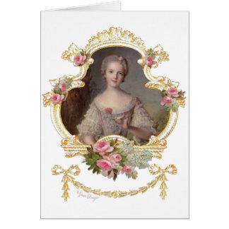 Cartões cor-de-rosa novos dos rosas da rainha Mari