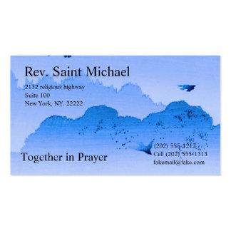 Cartões da administração da igreja cartão de visita