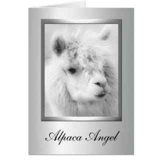 Cartões da alpaca