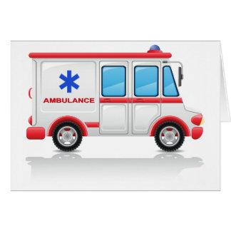 Cartões da ambulância