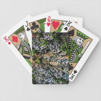 Cartões da bicicleta da pedra e da ardósia baralhos para pôquer